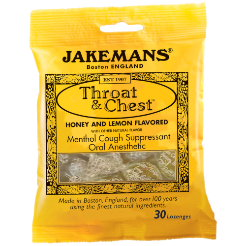 Jakemans: Lozenge Throat And Chest Honey And Lemon, 30 Pc