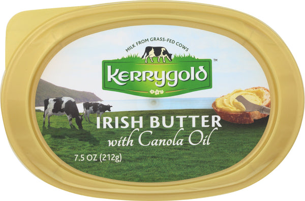Kerrygold: Irish Butter With Canola Oil, 7.5 Oz