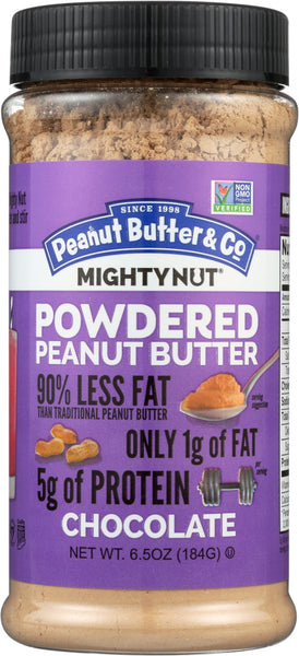 Peanut Butter & Co: Chocolate Powdered Peanut Butter, 6.5 Oz