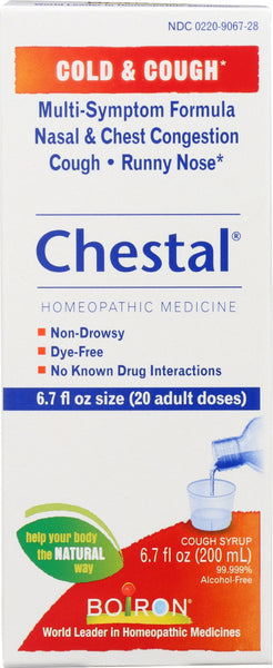 Boiron: Chestal Cold & Cough, 6.7 Oz