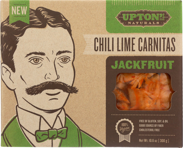 Uptons Naturals: Chili Lime Carnitas Jackfruit, 10.6 Oz