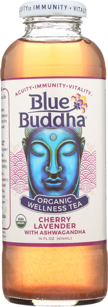 Blue Buddha: Tea Cherry Lavender Organic, 14 Oz
