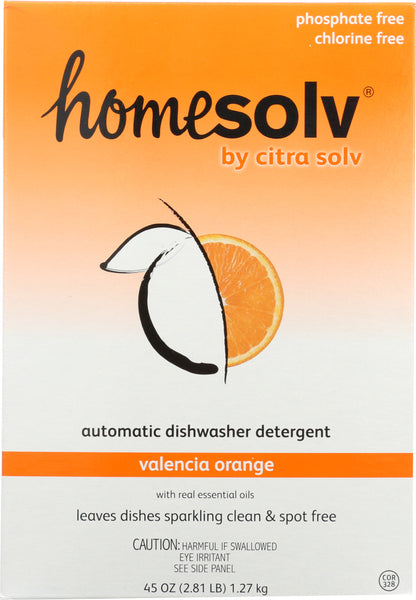 Homesolv: Citradish Automatic Dishwasher Detergent Valencia Orange, 45 Oz