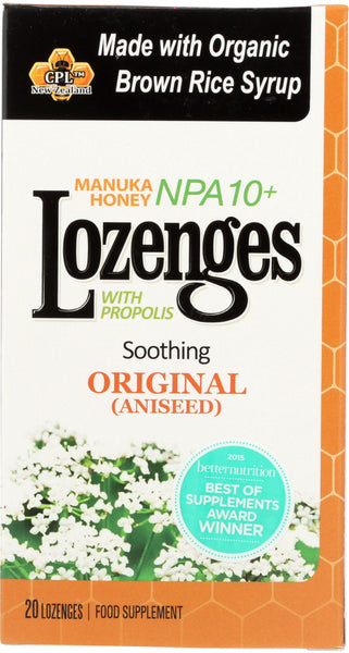 Pri: Propolis Lozenges Original, 20 Ct