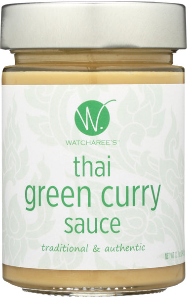 Watcharees: Sauce Green Thai Curry (12.200 Oz)