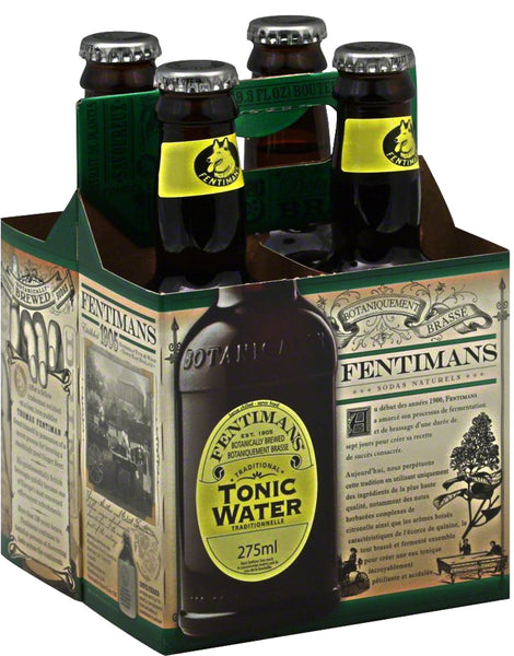 Fentimans: Traditional Tonic Water 4 Count, 37.2 Oz