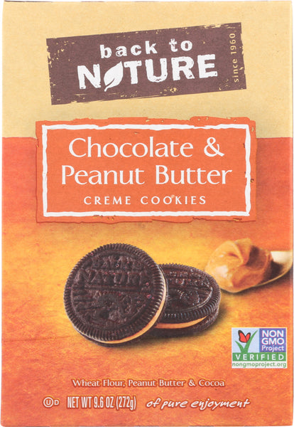 Back To Nature: Peanut Butter Creme Cookies, 9.6 Oz