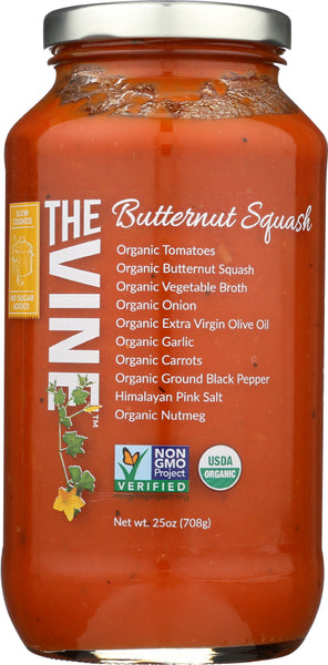 The Vine: Marinara Butternut Squash Organic, 25 Oz