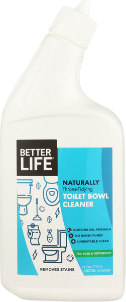 Better Life: Toilet Bowl Cleaner, 24 Oz
