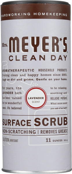 Mrs. Meyer's: Clean Day Surface Scrub Lavender Scent, 11 Oz