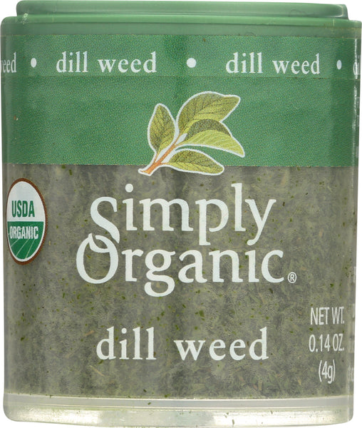Simply Organic: Mini Dill Weed, .14 Oz