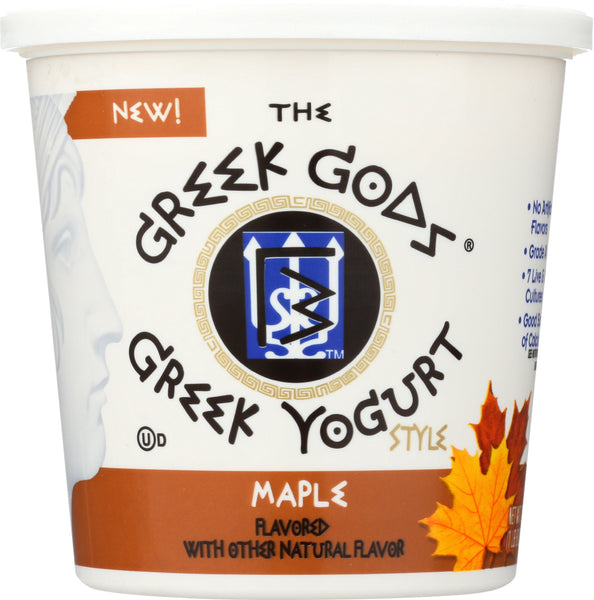 Greek God: Yogurt Greek Maple, 24 Oz