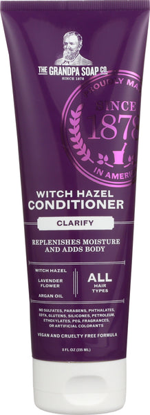 Grandpas: Conditioner Witch Hazel, 8 Oz