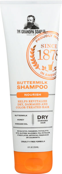Grandpas: Shampoo Buttermilk, 8 Oz