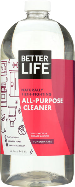 Better Life: Pomegranate All Purpose Cleaner, 32 Oz