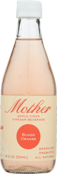 Mother Beverage: Beverage Cider Vinegar Blood Orange, 12 Fo
