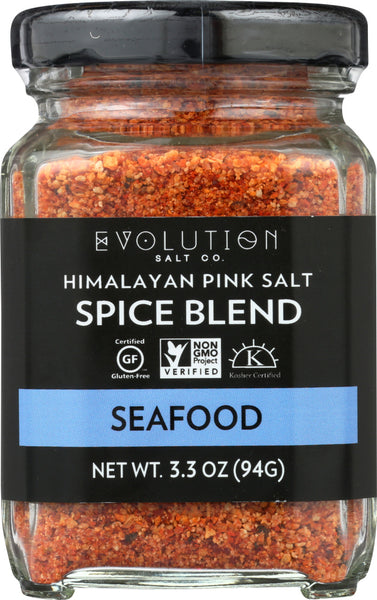 Evolution Salt Co.: Himalayan Pink Salt Seafood Spice Blend, 3.3 Oz