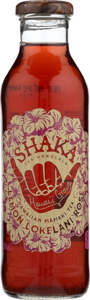 Shaka Tea: Lemon Tea Lokelani Rose, 14 Oz