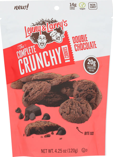 Lenny & Larrys: Cookie Double Chocolate Crunchy, 4.25 Oz