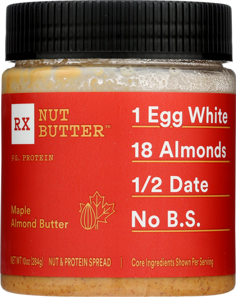 Rxbar: Maple Almond Butter Jar, 10 Oz