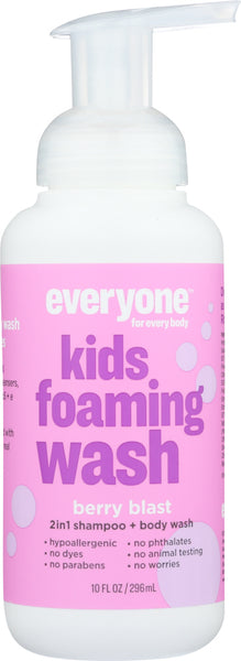 Everyone: Berry Blast Foaming Soap For Kids, 10 Oz