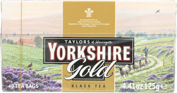 Taylors Of Harrogate Yorkshire: Gold Black Tea, 40 Tea Bags