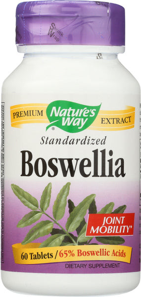 Nature's Way: Boswellia Standardized, 60 Tablets