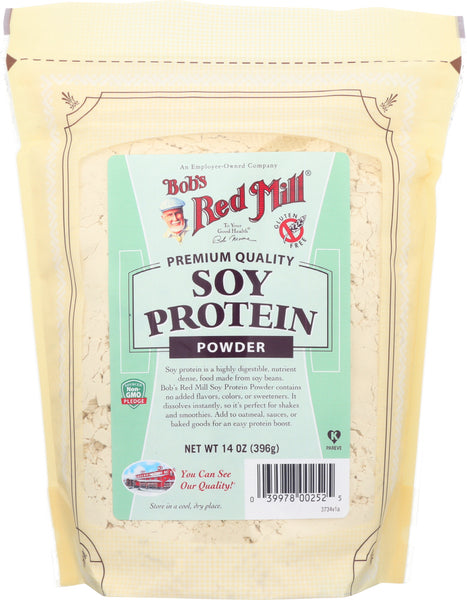 Bob's Red Mill: Premium Quality Soy Protein Powder, 14 Oz
