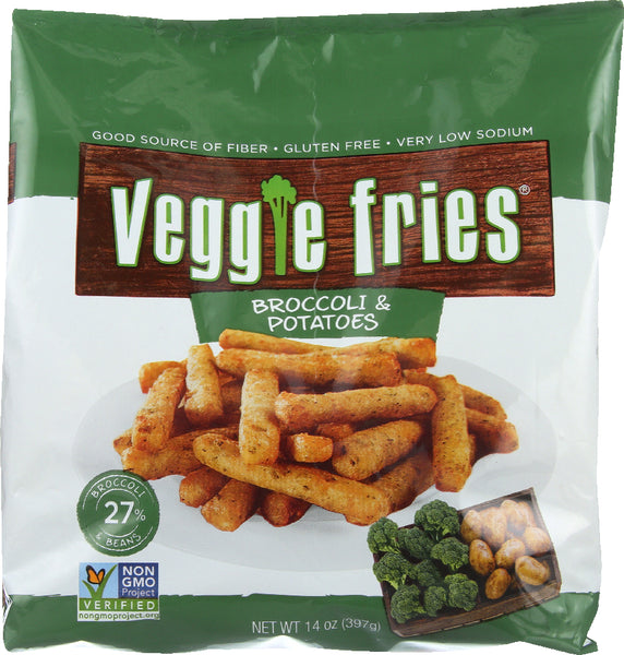 Veggie Fries: All Natural Broccoli And Potato Fries, 14 Oz