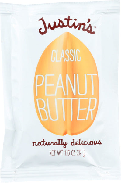 Justin's: Classic Peanut Butter Squeeze Pack, 1.15 Oz
