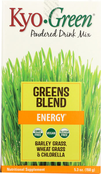 Kyolic: Kyo-green Powdered Drink Mix Energy, 5.3 Oz