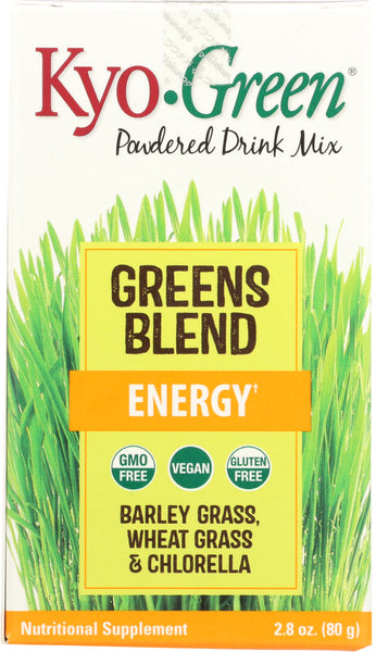 Kyolic: Kyo-green Powdered Drink Mix Energy, 2.8 Oz