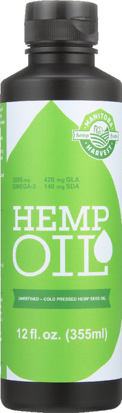 Manitoba Harvest: Natural Hemp Oil, 12 Oz