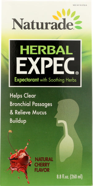 Naturade: Herbal Expec Natural Cherry, 8.8 Oz