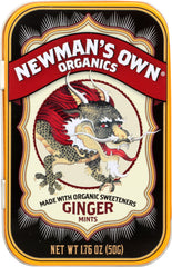 Newman's Own: Organics Mints Ginger, 1.76 Oz