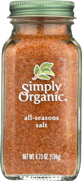 Simply Organic: All-seasons Salt, 4.73 Oz
