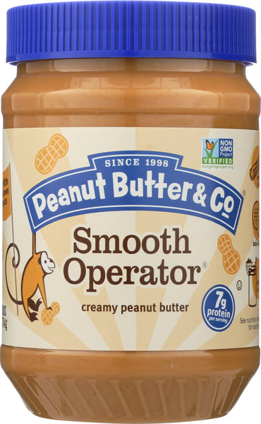 Peanut Butter & Co: Smooth Operator Peanut Butter, 28 Oz