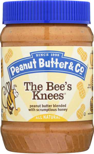 Peanut Butter & Co: The Bee's Knees Peanut Butter Blended With Scrumptious Honey, 16 Oz