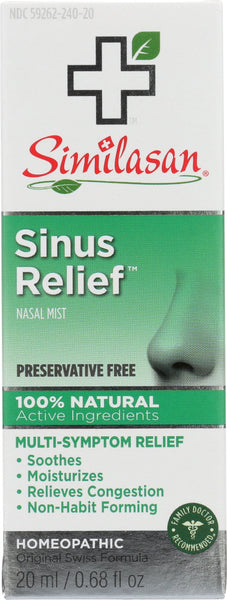 Similasan: Sinus Relief, 0.68 Oz