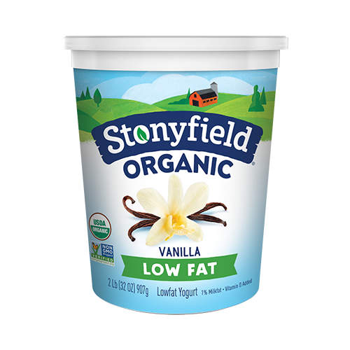 Stonyfield: Organic Lowfat French Vanilla Yogurt, 32 Oz