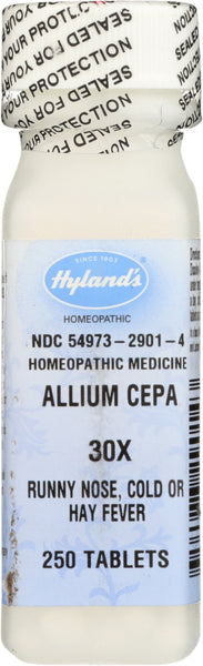 Hyland: Allium Cepa 30x, 250 Tablets