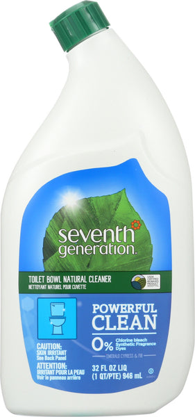 Seventh Generation: Natural Toilet Bowl Cleaner Emerald Cypress & Fir, 32 Oz