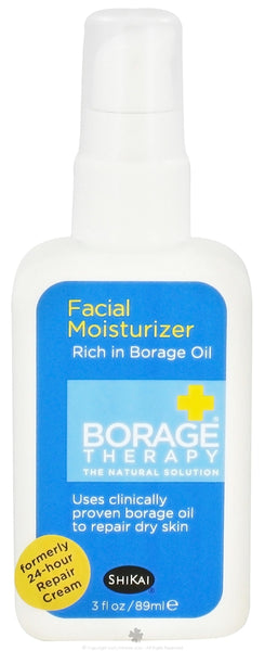 Shikai: Borage Therapy Facial Moisturizer, 3 Oz