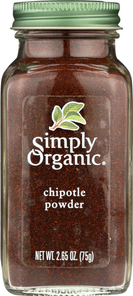 Simply Organic: Chipotle Powder, 2.65 Oz