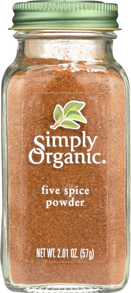 Simply Organic: Five Spice Powder, 2.01 Oz