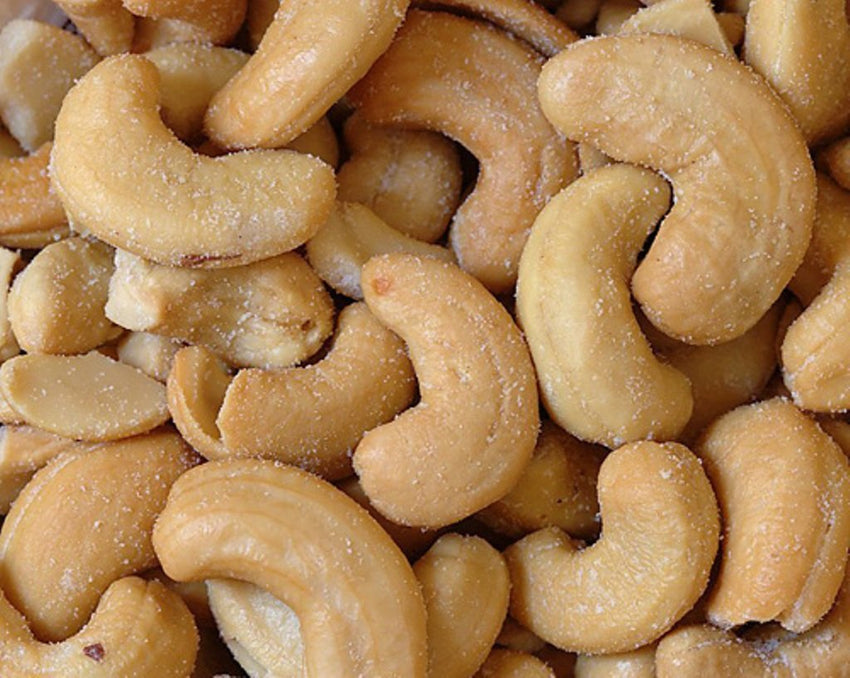 Bulk Nuts: Cashew Pieces Large Roasted & Salted, 25 Lb