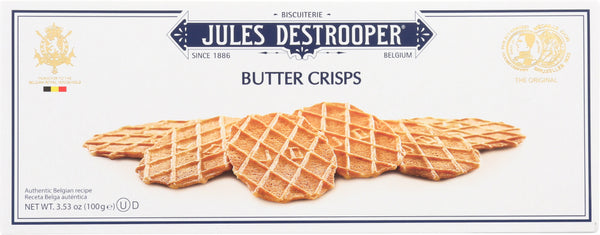 Jules Destrooper: Cookie Butter Crisp, 3.53 Oz
