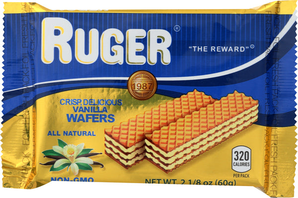 Ruger: Vanilla Wafers, 2.125 Oz