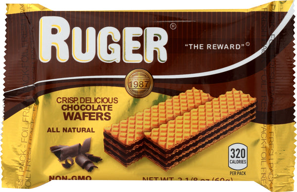 Ruger: Chocolate Wafers, 2.125 Oz