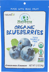 Natierra: Organic Freeze Dried Blueberries, 1.2 Oz